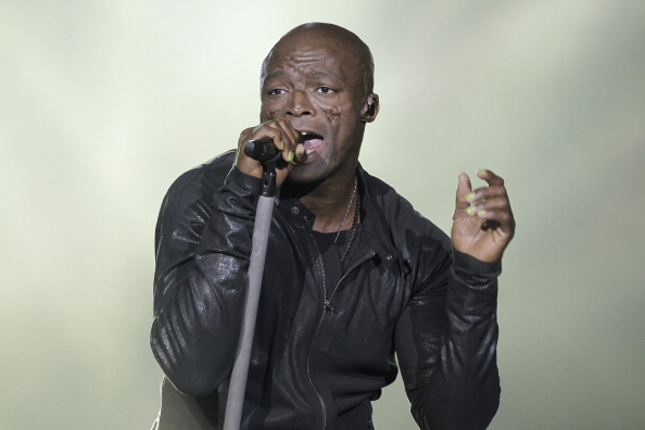 Seal Performs At Le Zenith Concert Hall In Paris