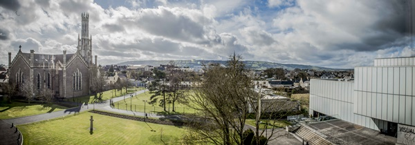 Carlow from the window of St Patricks College