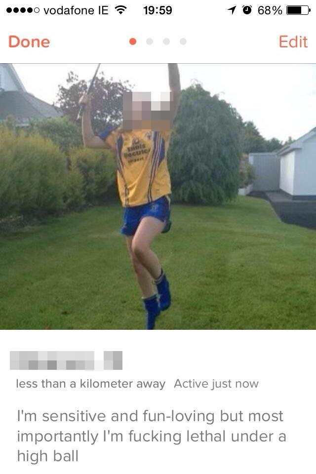 Pic: The Tinder profile that every GAA player in the country would