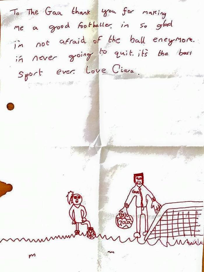 GAA letter