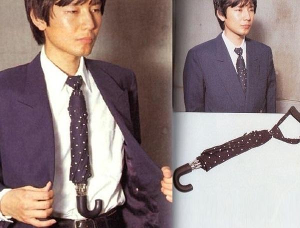 Japan invention tie