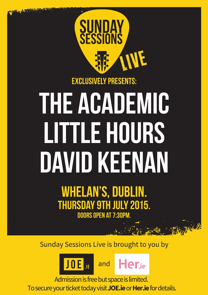 Sunday Sessions Live poster