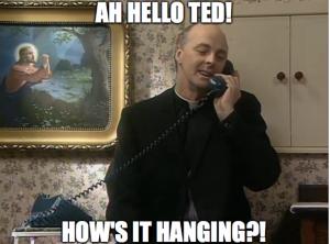 Larry Hanging