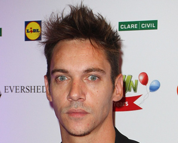 DUBLIN, IRELAND - SEPTEMBER 27:  Jonathan Rhys Meyers attends the Barretstown 20th Anniversary Gala Ball at Convention Centre on September 27, 2014 in Dublin, Ireland.  (Photo by Phillip Massey/Getty Images)