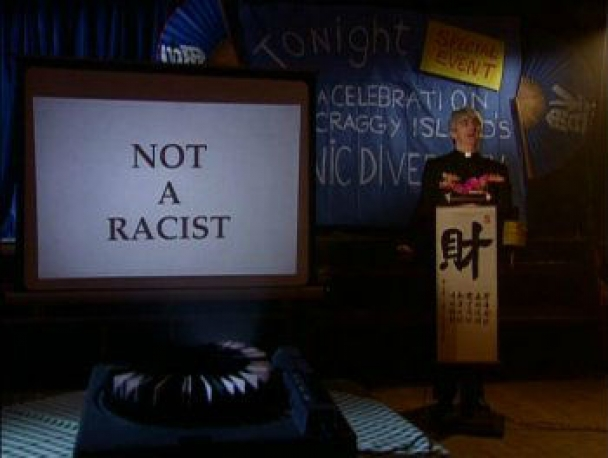 not a racist