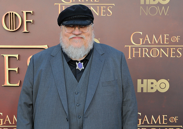 """SAN FRANCISCO, CA - MARCH 23: George R.R. Martin Writer/Co-Executive Producer attends HBO's """"Game Of Thrones"""" Season 5 San Francisco Premiere at San Francisco Opera House on March 23, 2015 in San Francisco, California. (Photo by Steve Jennings/WireImage)"""