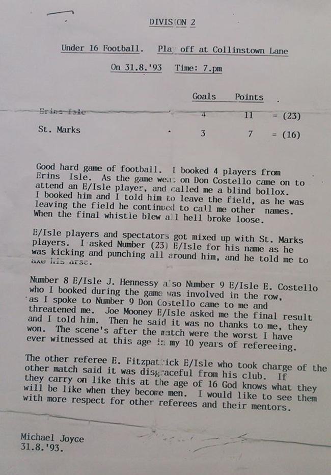 Referee Report