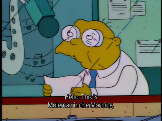 Moleman Morning