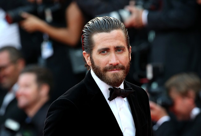 VENICE, ITALY - SEPTEMBER 02: Jake Gyllenhaal attends the opening ceremony and premiere of 'Everest' during the 72nd Venice Film Festival on September 2, 2015 in Venice, Italy. (Photo by Danny Martindale/WireImage)