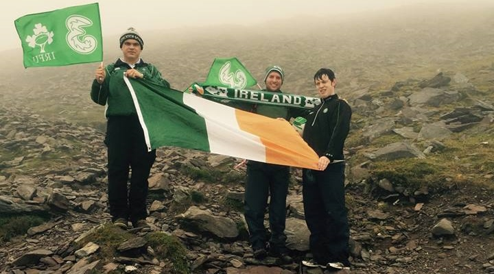 Irish lads mountain
