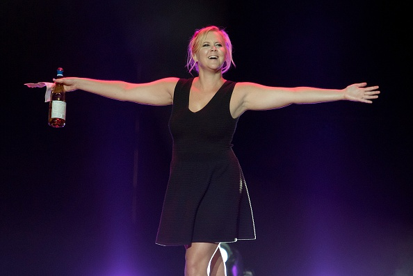 WANTAGH, NY - SEPTEMBER 04: Comedian Amy Schumer performs during the Oddball Comedy and Curiosity Festival at the Nikon at Jones Beach Theater on September 4, 2015 in Wantagh, New York. (Photo by Mike Pont/Getty Images)