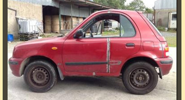The Modified Nissan Micra Shorty For Sale On Donedeal Is
