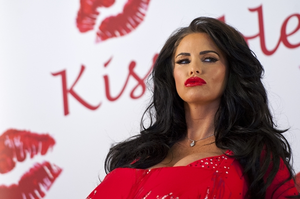 Katie Price Launches Her New Fragrance 'Kissable' - Photocall