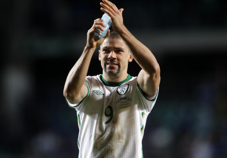 EURO 2012 Qualifying Play-Off First Leg, A Le Coq Arena, Tallinn, Estonia 11/11/2011 Republic of Ireland Jonathan Walters at the end of the game Mandatory Credit ©INPHO/Donall Farmer
