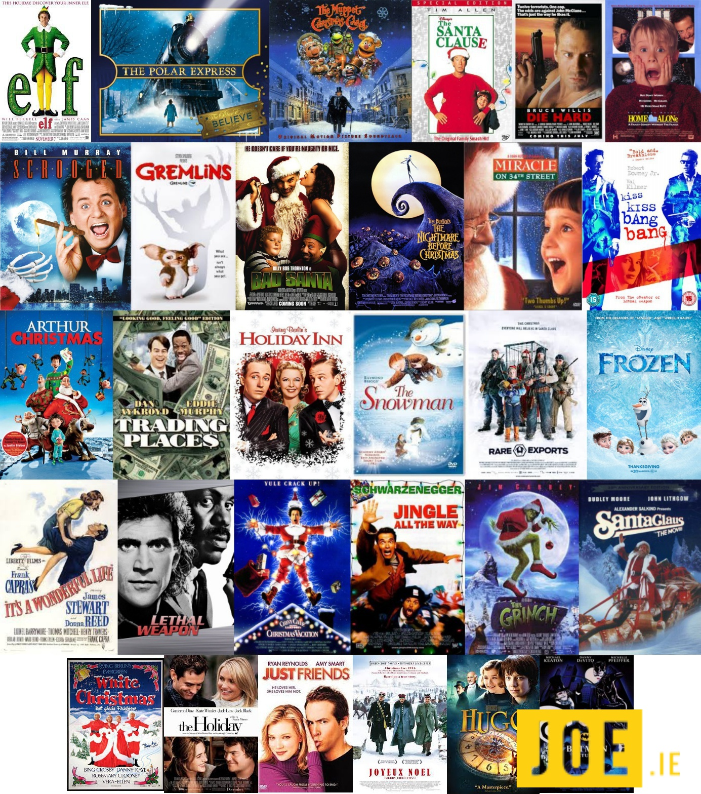 Poll What Is Irelands Favourite Christmas Movie Joe Is The