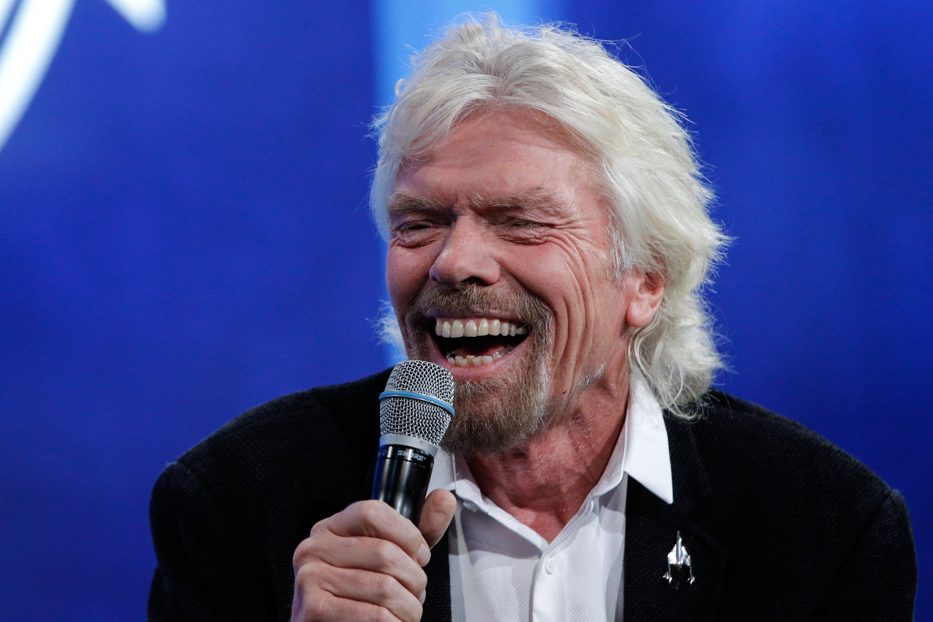 NEW YORK, NY - SEPTEMBER 28: Sir Richard Branson attends the Looking to the Next Frontier session during the third day of the 2015 Clinton Global Initiative's Annual Meeting at the Sheraton New York Hotel & Towers on September 28, 2015 in New York City. (Photo by JP Yim/Getty Images)