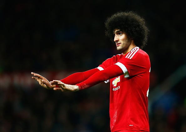 during the Capital One Cup Fourth Round match between Manchester United and Middlesbrough at Old Trafford on October 28, 2015 in Manchester, England.
