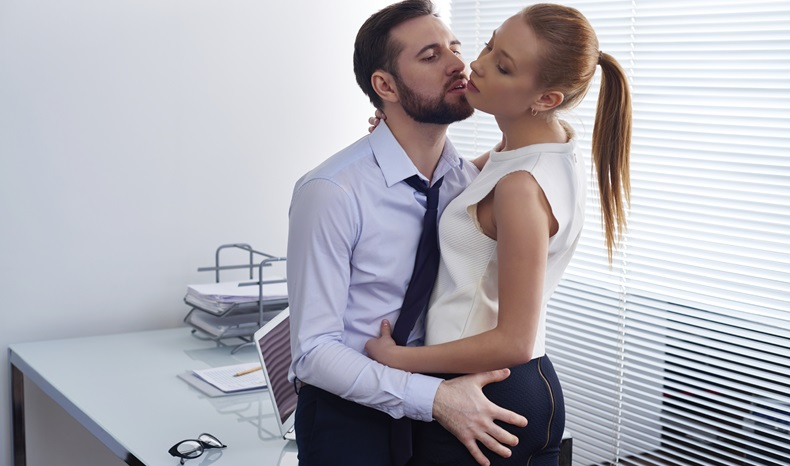 Office Kiss