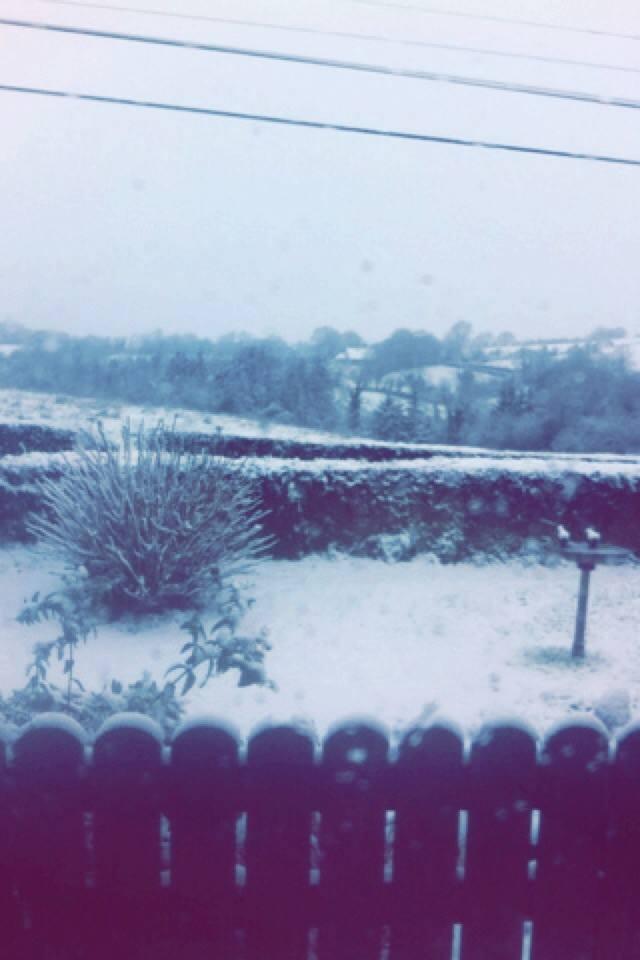 Monaghan snow