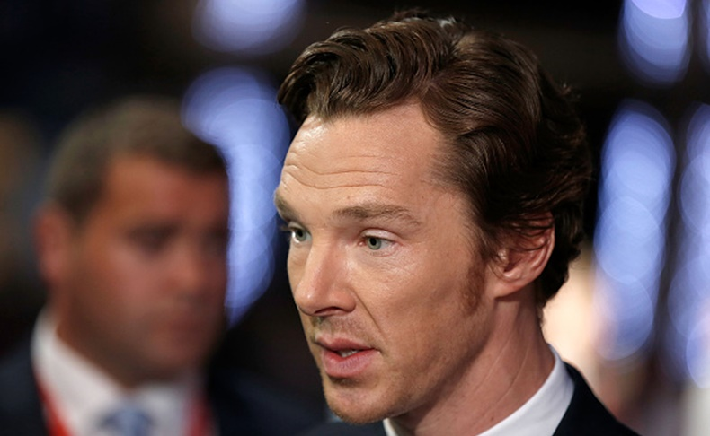 "LONDON, ENGLAND - OCTOBER 11:  Benedict Cumberbatch attends the ""Black Mass"" Virgin Atlantic Gala screening during the BFI London Film Festival, at Odeon Leicester Square on October 11, 2015 in London, England.  (Photo by John Phillips/Getty Images for BFI)"