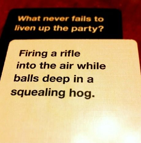 14 Hilarious Moments When Cards Against Humanity Was Absolute Filth