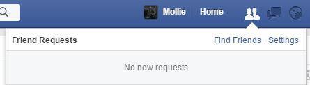 Facebook friend requests 1