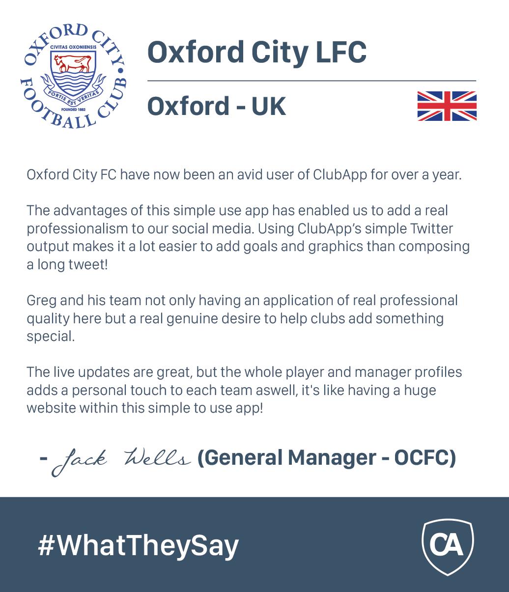 ClubApp Oxford