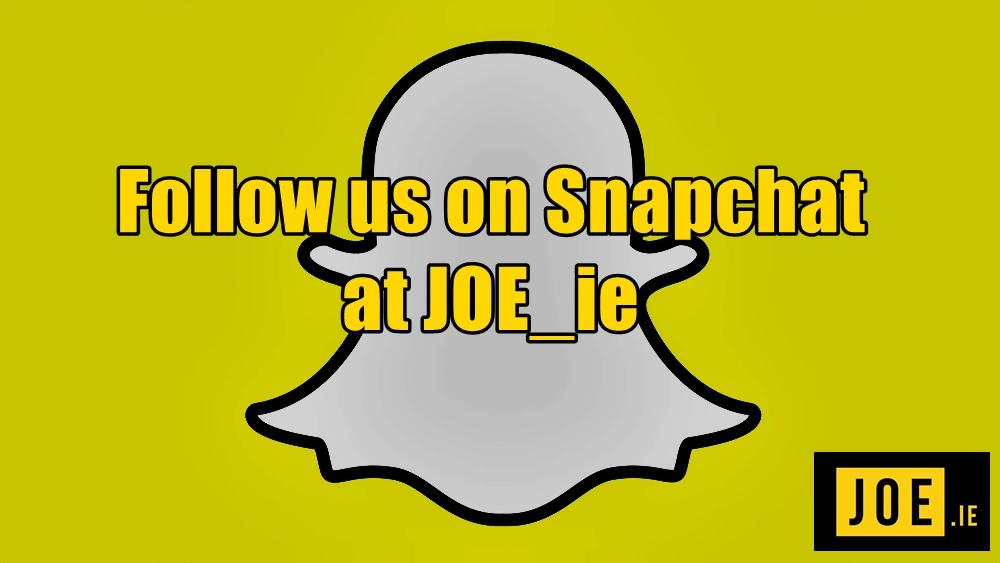 JOE Snapchat