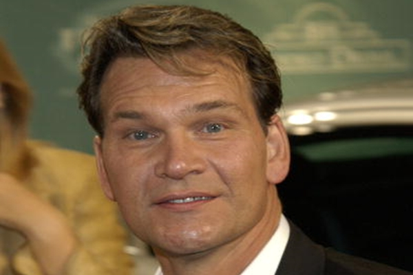 BEVERLY HILLS, CA - SEPTEMBER 23: Actor Patrick Swayze attends Jaguar's Tribute To Style on Rodeo Drive on September 23, 2002 in Beverly Hills, California. (Photo by Vince Bucci/Getty Images)