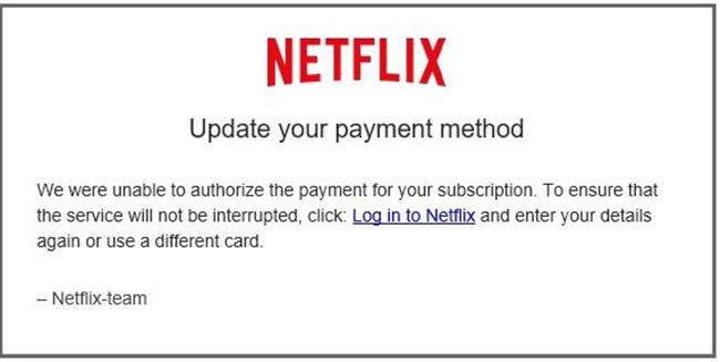 Netflic Email