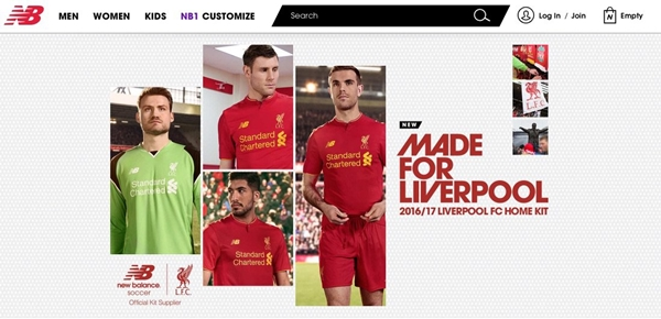 ... new kit. liverpool. So there it is in all its glory and we reckon a lot  of Liverpool fans will be pleased with the look. 2f42c013f