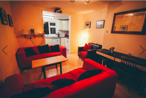 PIC: Only film buffs need apply to live in this apartment ...
