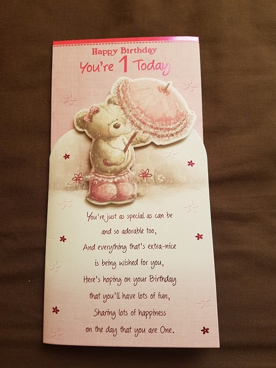 Man Buys Birthday Card For One Year Old Girl Finds Creepy Misprint