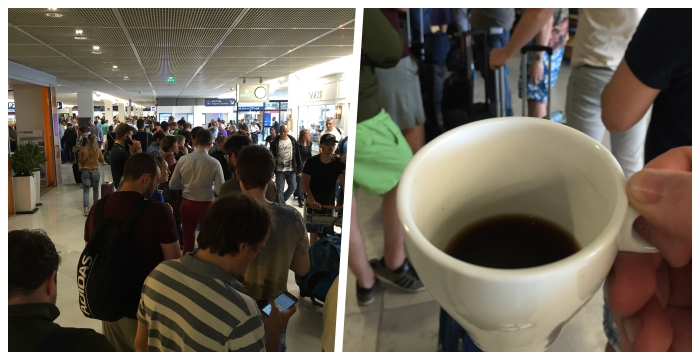 COFEE AND QUEUE
