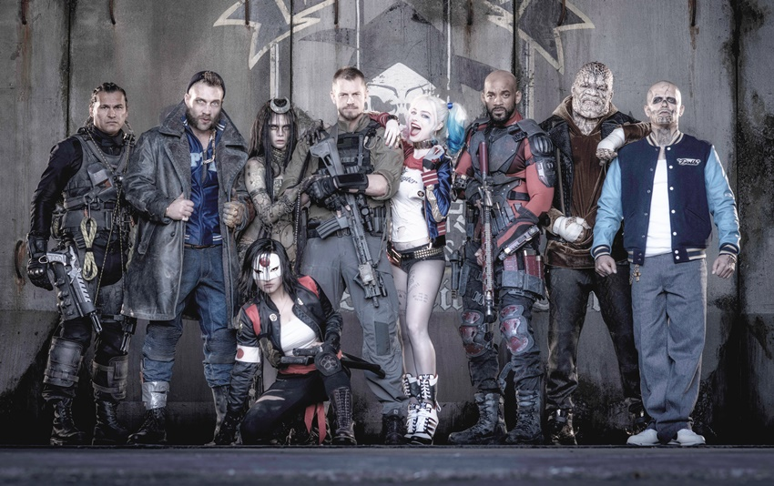 Suicide Squad group pic