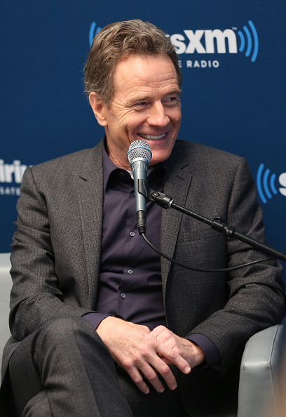 at SiriusXM's 'Town Hall' With Bryan Cranston at SiriusXM Studios on July 12, 2016 in New York City. Town Hall is to air on SiriusXM's Entertainment Weekly Radio.