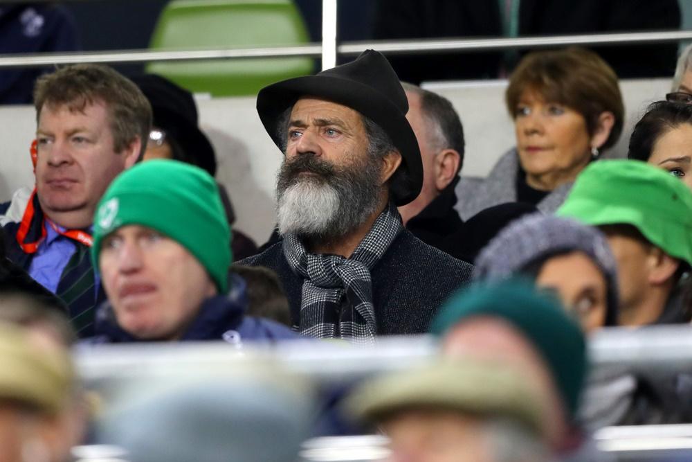 Guinness Series, Aviva Stadium, Dublin 26/11/2016 Ireland vs Australia Actor Mel Gibson at the game Mandatory Credit ©INPHO/James Crombie