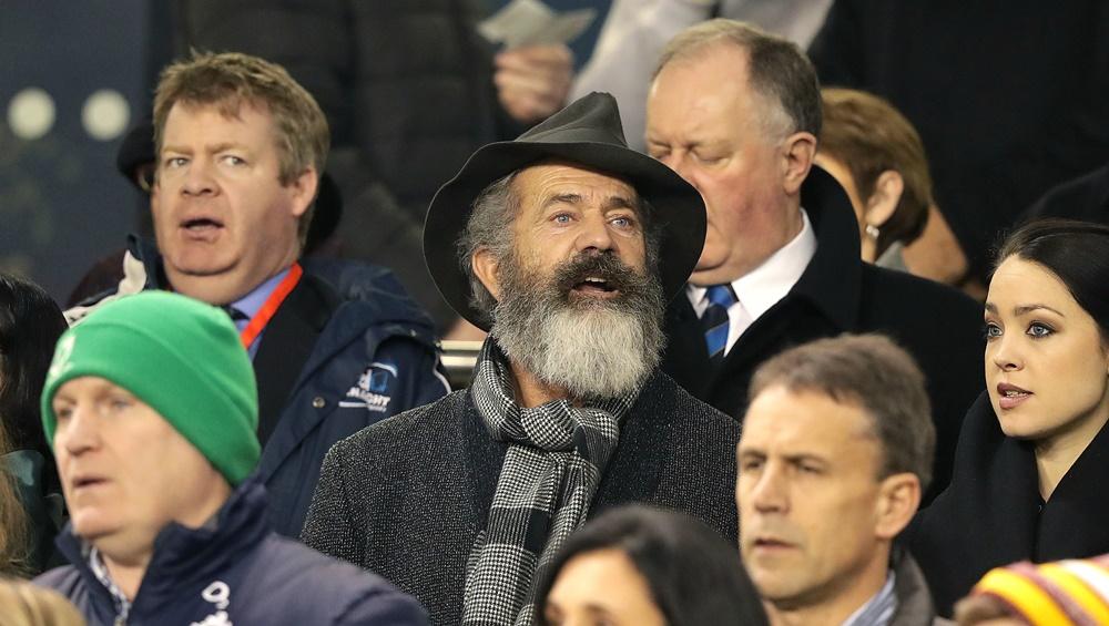 Guinness Series, Aviva Stadium, Dublin 26/11/2016 Ireland vs Australia Mel Gibson Mandatory Credit ©INPHO/Morgan Treacy