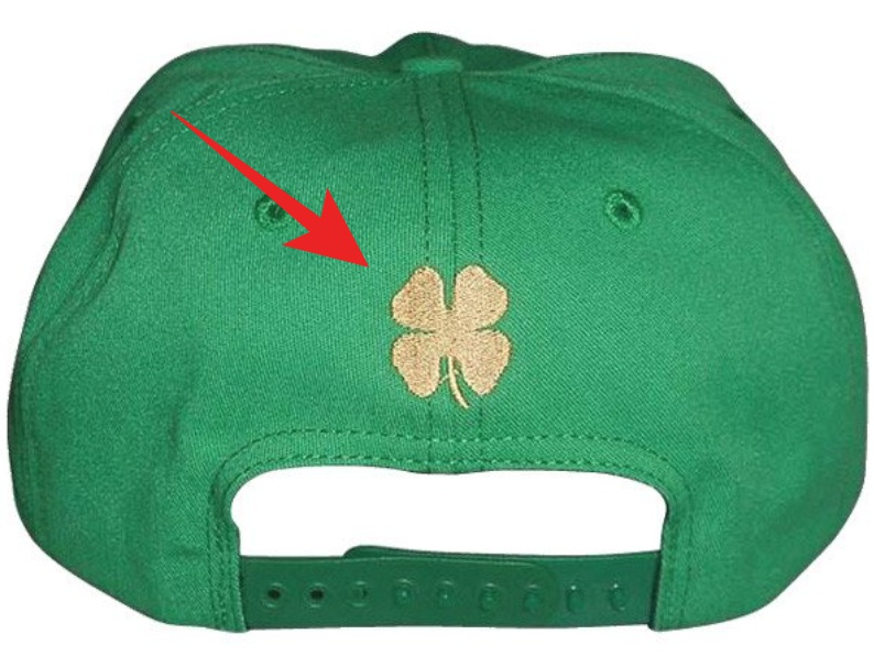 There's a glaring problem with Donald Trump's St Patrick's Day themed hats
