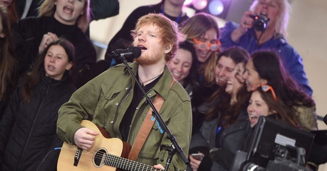 Ed Sheeran denies he's quitting music
