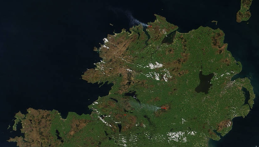 Galway Forest Fire Extinguished