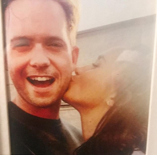 Suits star patrick j adams was forced to delete this instagram i posted this old photo i had found of meghan and i on set adams recalls it was a nostalgic moment prompted in part by the 100th episode thecheapjerseys Gallery