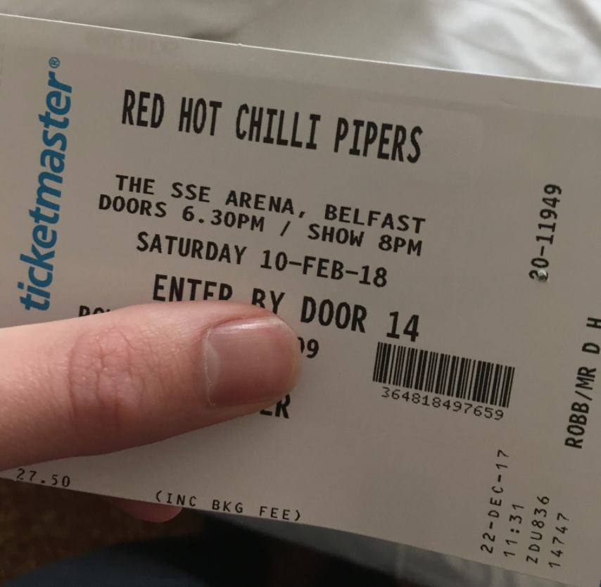Man Buys Red Hot Chili Peppers Tickets, Fails Massively