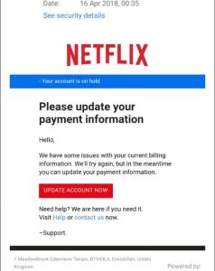 A new scam targeting Netflix users may leave people quite