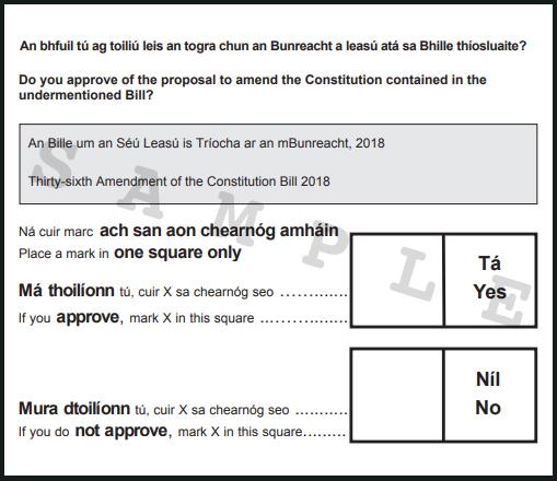Turnout high as voting begins in Ireland abortion referendum