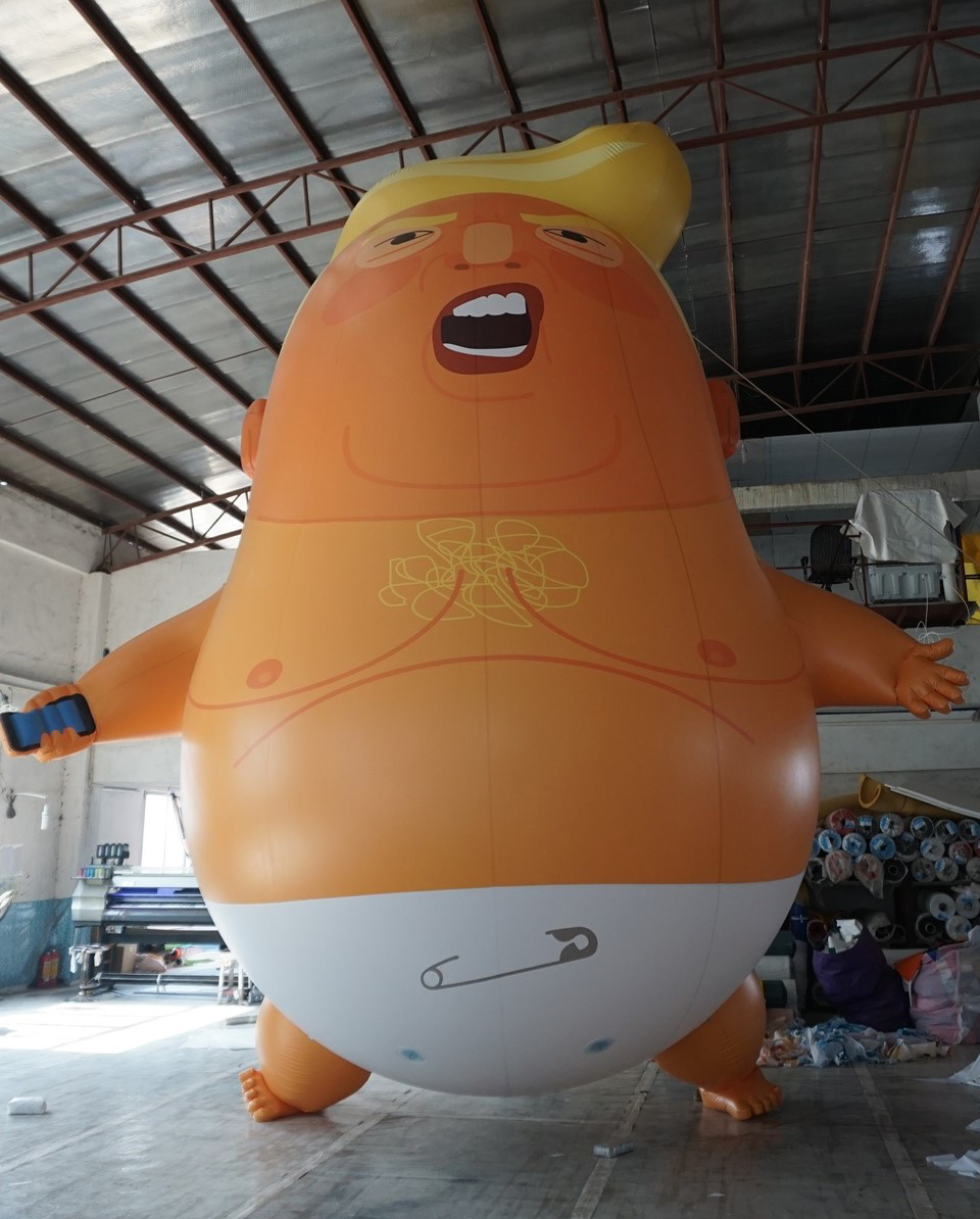 Trump 'baby' to fly over London during president's visit