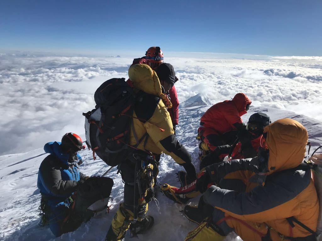 Jason Black K2 summit