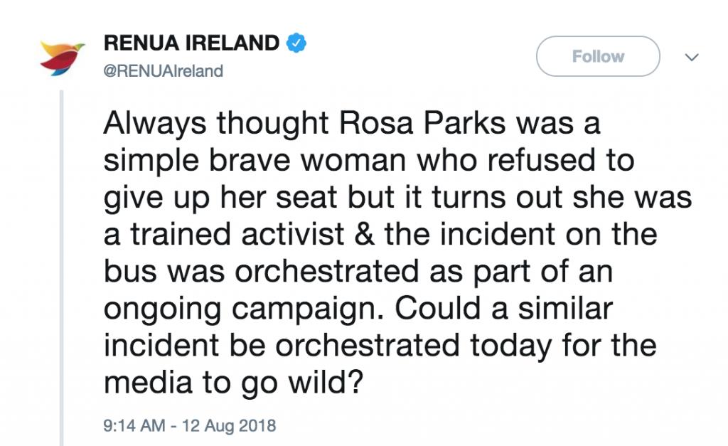 Renua Ireland Rosa Parks 1