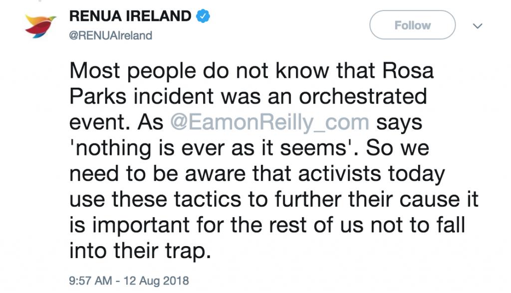 Renua Ireland Rosa Parks 2