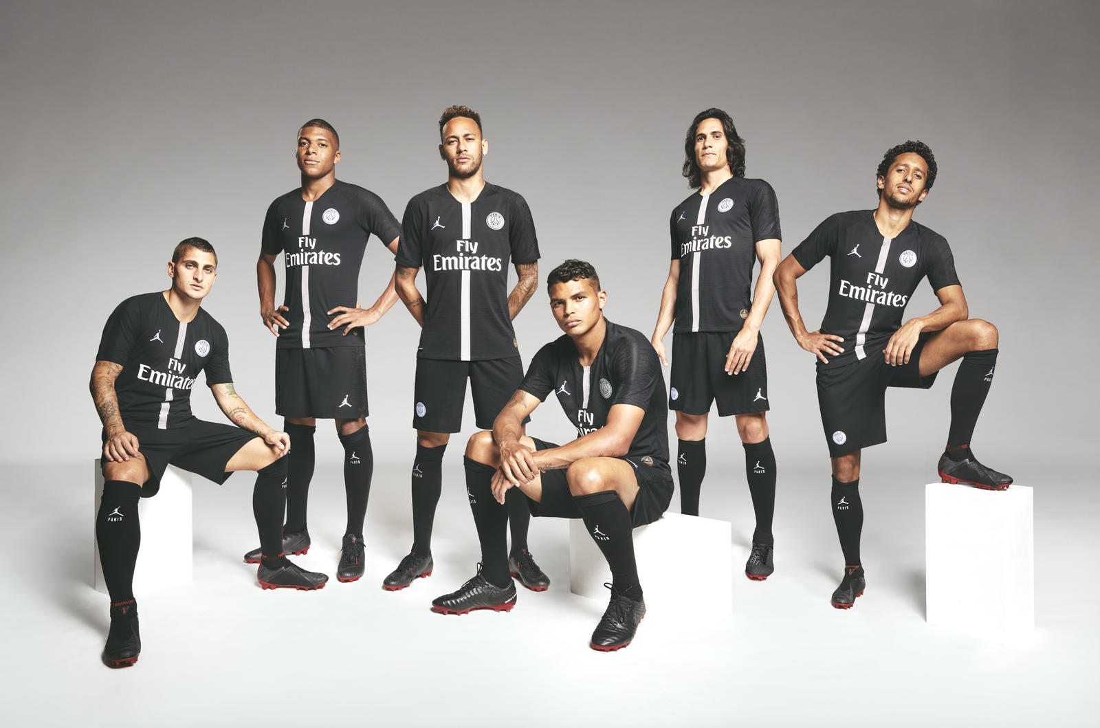 watch 5887f b84b1 PSG unveil their new Michael Jordan themed jersey, and it is ...